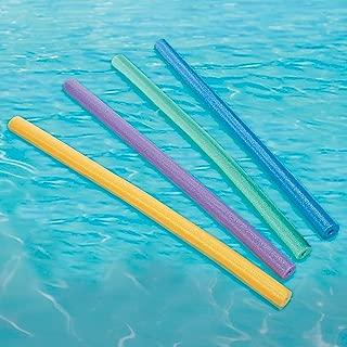 Fun Express - Pool Noodles - Toys - Active Play - Beach Toys - 24 Pieces