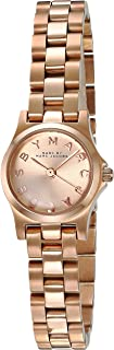 Marc Jacobs Henry Dinky Women's Dial Stainless Steel Band Watch - MBM3198