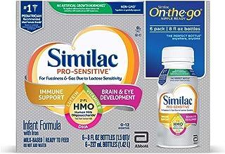 Similac Non-GMO with 2'-FL HMO Infant Formula Ready-to-Feed, 8 Fl Oz