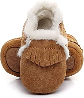 Best baby fur moccasins Reviews