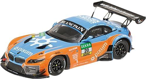 precio mas barato Minichamps 1 43 43 43 Escala 2014 BMW Z4 GT3 Pixum Equipo Schubert Mue   Sandritter ADAC GT Masters del Coche (naranja   azul)  despacho de tienda