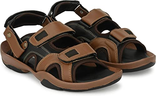 Black and Brown Stylish Sports Outdoor Fashion Men Sandals