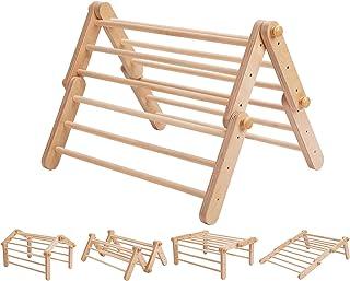 Pikler triangular Mopitri modificable, estructura de escalada, escalador independiente, Pikler triangle