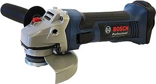 Bosch Professional GWS 18-125 V-LI Professional - Miniamoladora (18 V, sin batería, 125 mm, 10.000 rpm, sistema ECP, 2,3 kg, con caja cartón)