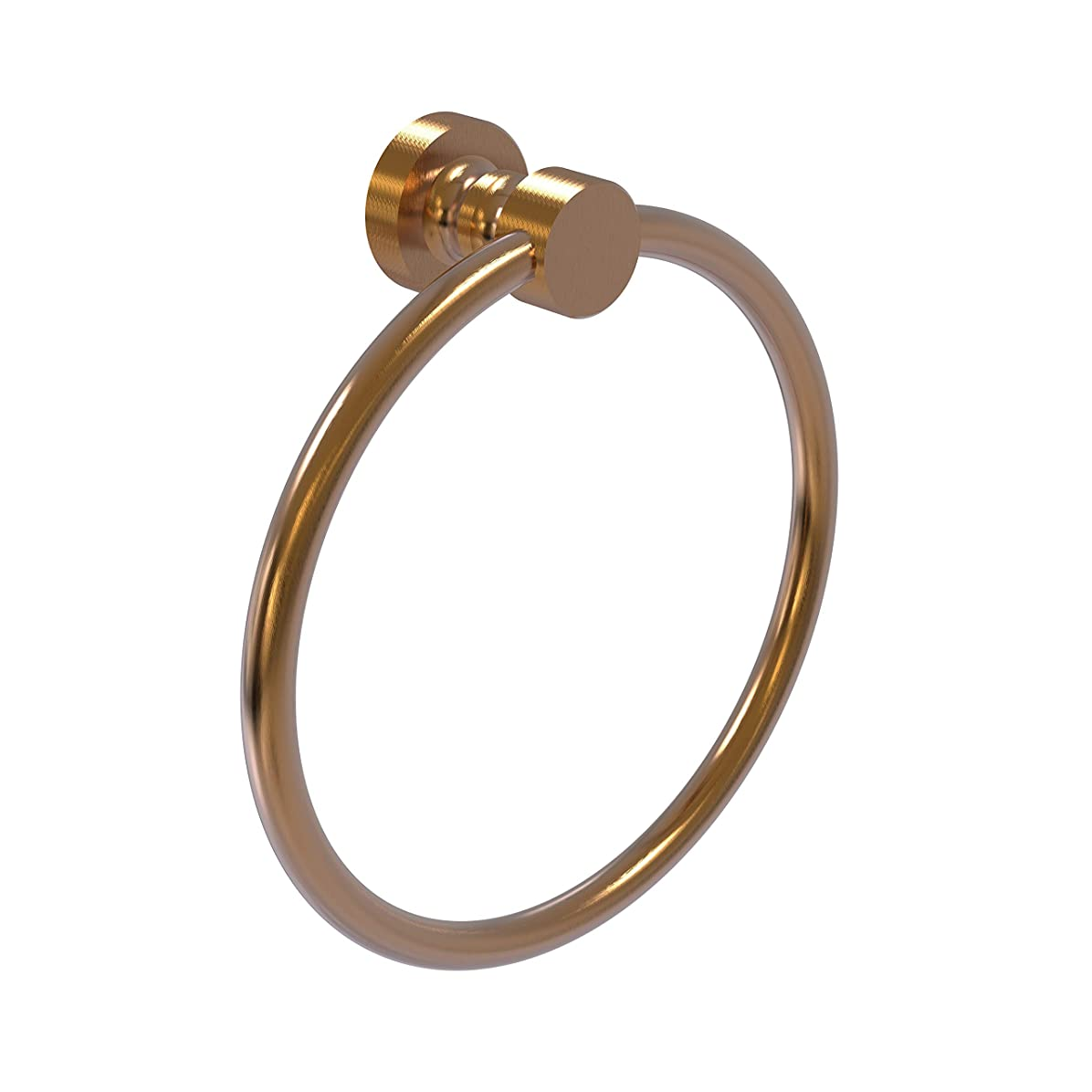 コントラスト幻影大理石Allied Brass FT-16-BBR 15cm Towel Ring, Brushed Bronze