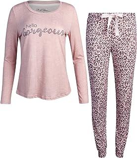 Marilyn Monroe Women's Pajama Set – 2-Piece Super Soft Jogger Sweatpants and T-Shirt Set