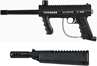 Tippmann 98 Platinum Paintball Gun w/ Flatline Barrel