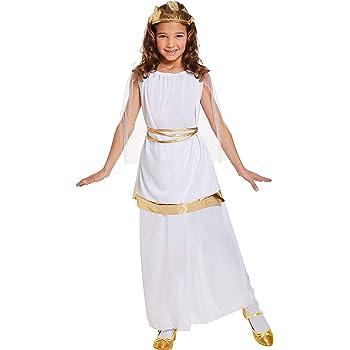 HENBRANDT Disfraz Disfraz Chica Chica Disfraz de Diosa Griega para ...