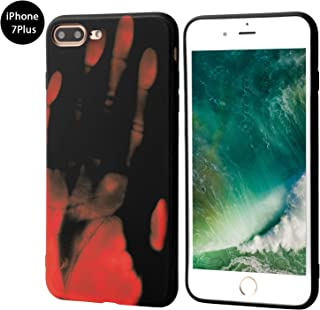 Seternaly Creative Thermal Sensor Cases Cool Cover for iPhone 7 Plus/iPhone 8 Plus [5.5