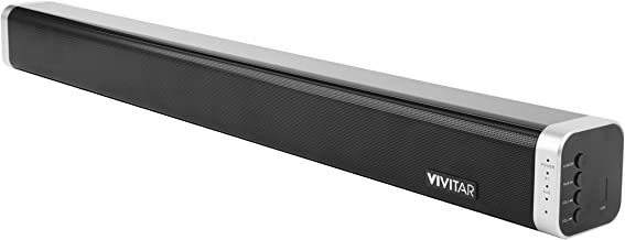 Vivitar 24 Inch Wall Mountable Wireless Bluetooth Soundbar