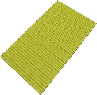 東プレ 抗菌タイプ シャッター式風呂ふた カラーイージーウェーブ 70×140cm グリーン M14