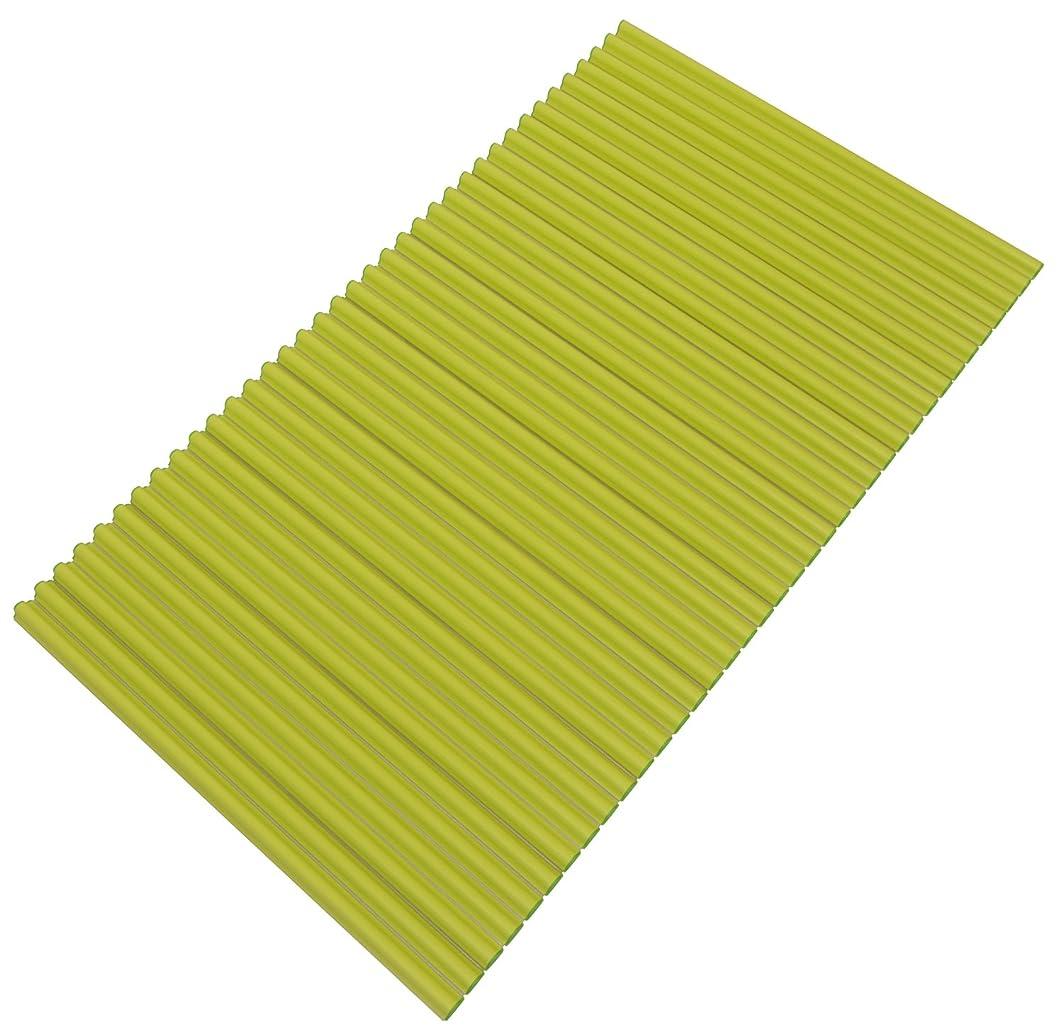 スピリチュアル人に関する限り利用可能東プレ 抗菌タイプ シャッター式風呂ふた カラーイージーウェーブ 70×140cm グリーン M14