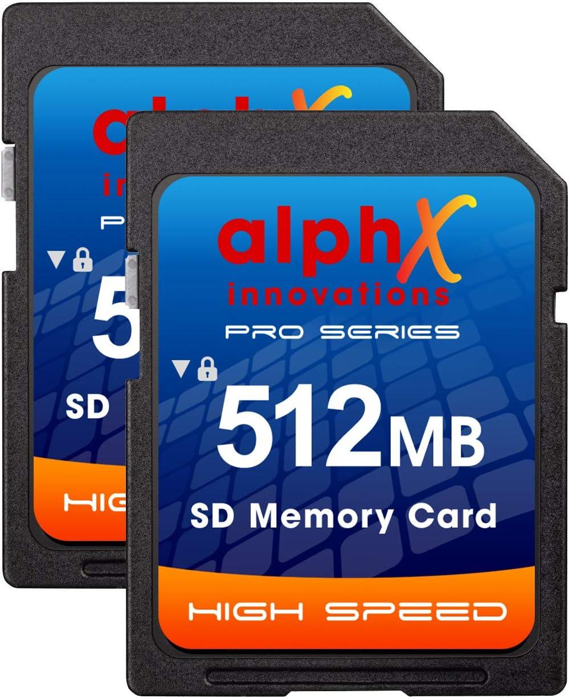 Nikon D50 D40 D40X D3300 Digital Camera Memory Card 2X 512MB Secure Digital (SD) Memory Card (1 Twin Pack)
