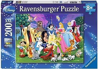 Ravensburger - 12698 - Puzzle Enfant Classique - Grands Personnages Disney - 200 Pièces XXL