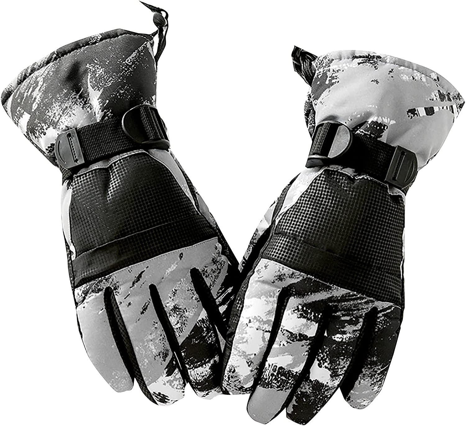 Warm Ski Gloves Graffiti Riding Gloves Can Protect Against Cold And Wind Fashion/Prom/Warm/Bicycle Gloves