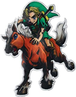 Simplicity 1935089001 Nintendo The Legend of Zelda Link and Epona Applique Clothing Iron On Patch, 3.2'' x 3.8