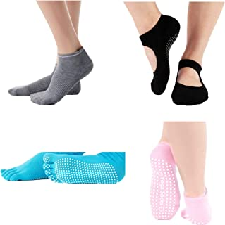 Silicone Non-Slip Yoga Socks Woman Damping Pilates Barre Dance Slippers Ballet