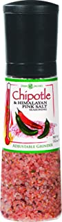 Dean Jacobs Jumbo Grinder, Chipotle and Himalayan Pink Salt Seasoning, 13.2 Ounce