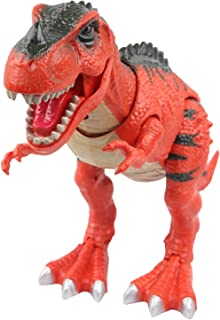 Sun Cling Electronic Toys Red Walking T-rex Dinosaur