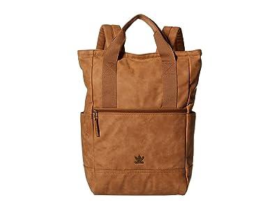 adidas Originals Originals Tote III Suede Backpack (Timber PU Suede) Backpack Bags