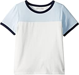 Short Sleeve Color Blocked Tee (Big Kids)