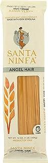 Santa Ninfa Capellini Angel Hair Italian Pasta, 1 Pound (Pack of 12)