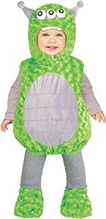 Fun World Li'L Alien Toddler Costume, X-Small, Multicolor