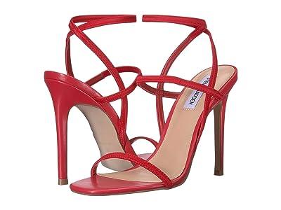 Steve Madden Nectur Heeled Sandals (Red) High Heels