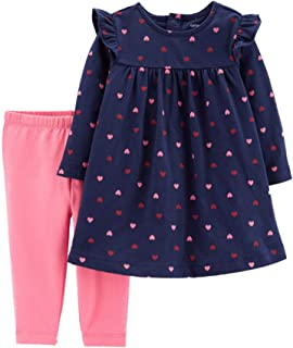 Valentine's Day Outfit - Long Sleeve Top and Leggings Set...