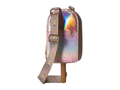 OMG! Accessories Rainbow Glitter Popsicle Crossbody (Rose Gold) Cross Body Handbags