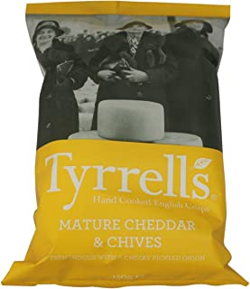 Tyrrells Chips Cheddar Cheese & Chive 150 g
