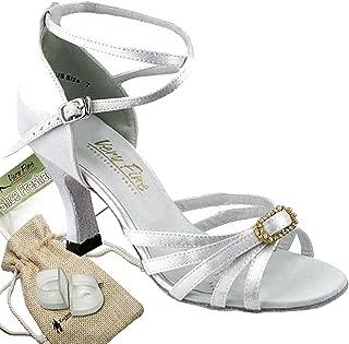 Women Ballroom Dance Shoes Tango Wedding Salsa Shoe 6005EB Stone Comfortable-Very Fine 2.5