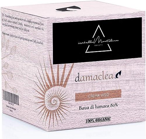 ISABELLA MONTELUNA Crema Viso Antirughe Bava di Lumaca 80% Burro di Karitè Olio di Argan Aloe Crema Viso Collo Decoll...