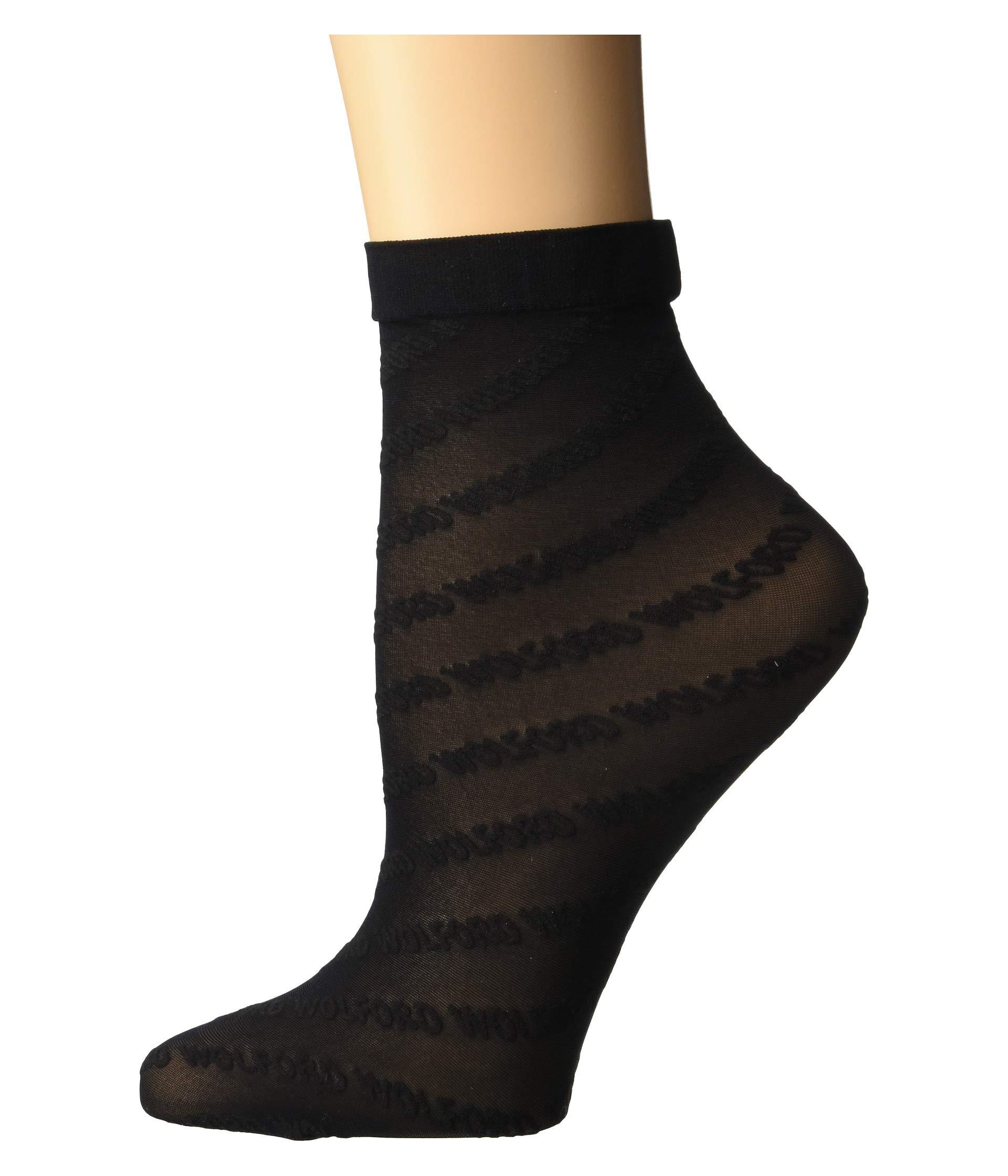 Logo Wolford Black Logo Black Socks Socks Wolford black R8Ox6P