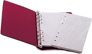 HNR RED Loose-Leaf Memo Book, 6 3/4 x 3 3/4