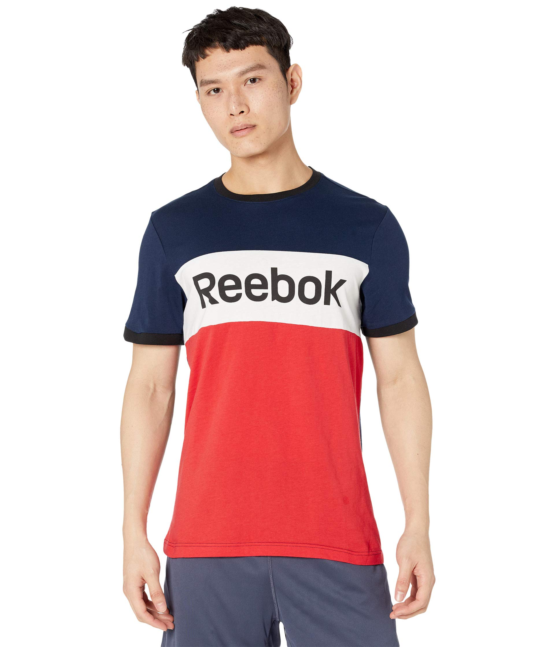 Reebok Training Essentials Blocked Short Sleeve Tee