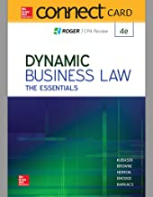 Connect Access Card for Dynamic Business Law:  The Essentials
