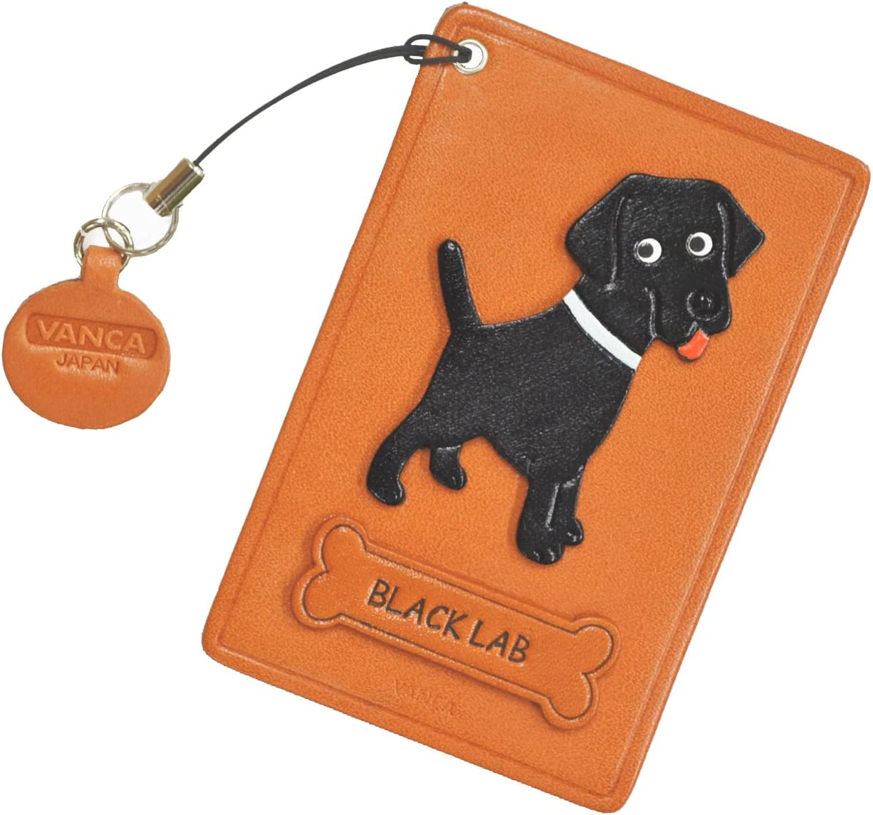 Black Labrador Retriever Leather Dog ID Holder Pass Credit At the price of surprise Card Sale SALE% OFF