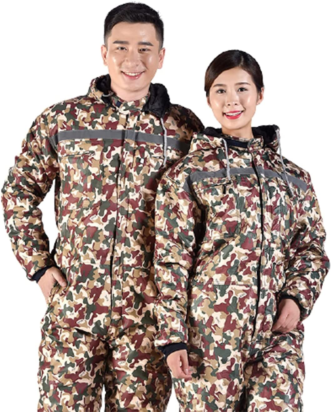 WFGZQ Mens Coveralls Fort Worth Mall 2021 model Hardwearing Overalls Thermal Functional Wor