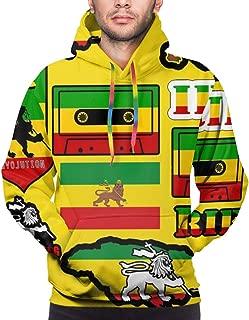 YongColer Pullover Hoodie Hooded Sweatshirt for Mens Boys, Hip-Hop Sportswear