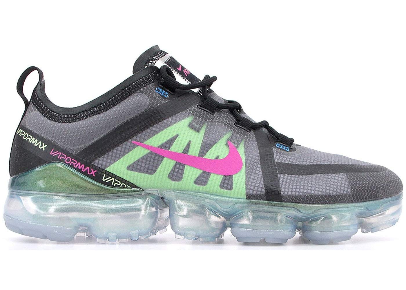 juntos Consecutivo promedio  Nike Men's Air Vapormax 2019 Premium Mesh, Black/Active Fuchsia, Size 10.0-  Buy Online in Cayman Islands at cayman.desertcart.com. ProductId :  144635001.