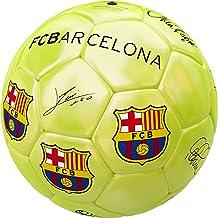 Balón Grande F.C. Barcelona Firmado Amarillo [AB2203]