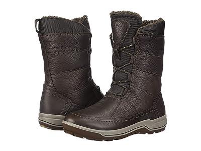 ECCO Sport Trace Hydromax Boot (Coffee) Women