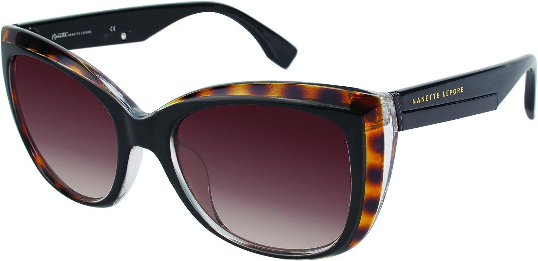Nanette by Nanette Lepore Women's NN106 TSOX Cateye Sunglasses