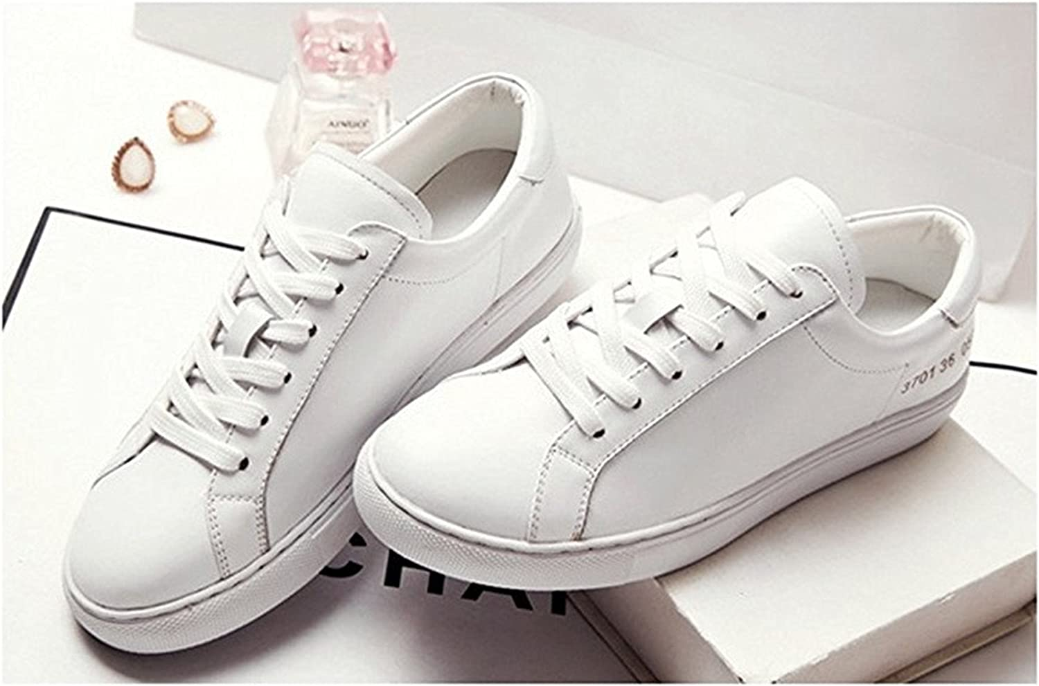 Teachay Fashionable Women's Adult Leather Classic shoes Fashion Sneaker