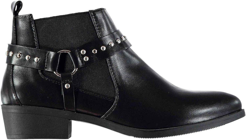 MISO Deputy Stiefeletten Damen Schwarz Footwear Schuhe
