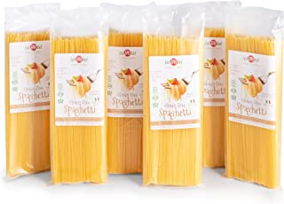 Sponsored Ad - isiBisi Spaghetti Gluten Free Pasta - Rice and Corn Flour - Made in Italy (96 oz - 6 Pack)