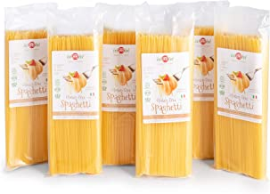 isiBisi Spaghetti Gluten Free Pasta - Rice and Corn Flour - Made in Italy (96 oz - 6 Pack)