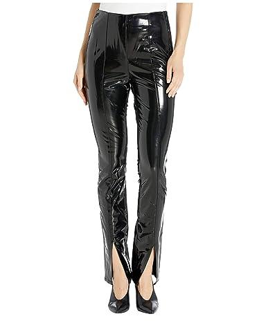 Blank NYC Front Seamed Vinyl Looking Leggings (Dominatrix) Women