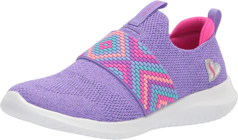 Skechers Unisex-Child Ultra Flex-Friendship Fun Sneaker